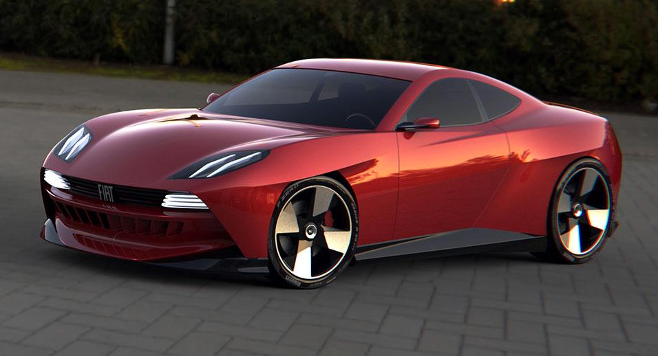 Fiat Coupè 2022: così viene immaginata la sportiva italiana [RENDER]