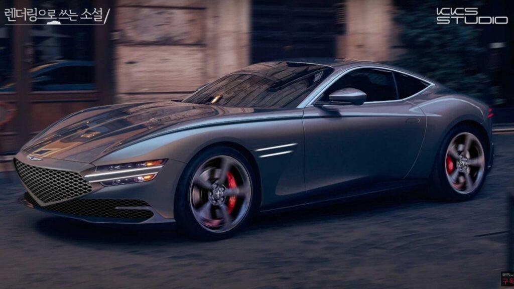 Genesis GT70 Coupé: il render di KKS Studio [VIDEO]