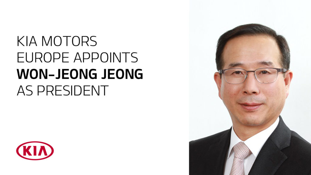 Kia, Won-Jeong Jeong nominato presidente di Kia Motors Europe
