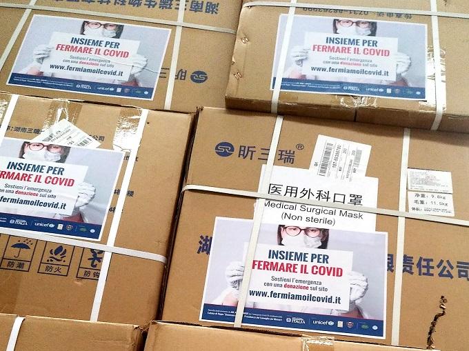 Coronavirus, acquistate le prime 500.000 mascherine con la raccolta lanciata dall'Automotoclub Storico Italiano