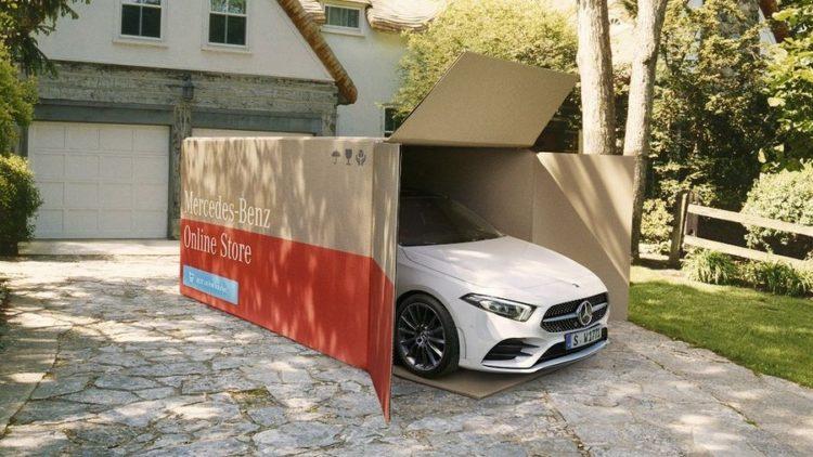 La tua nuova Mercedes ti arriva direttamente sul vialetto di casa