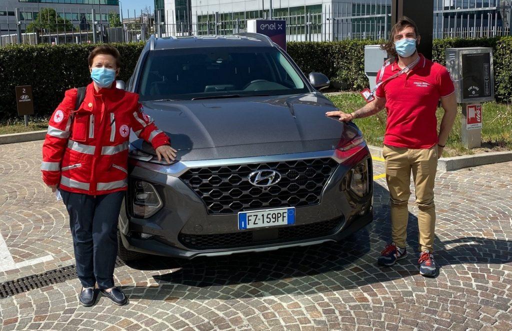 Hyundai: una flotta a disposizione della Croce Rossa Italiana