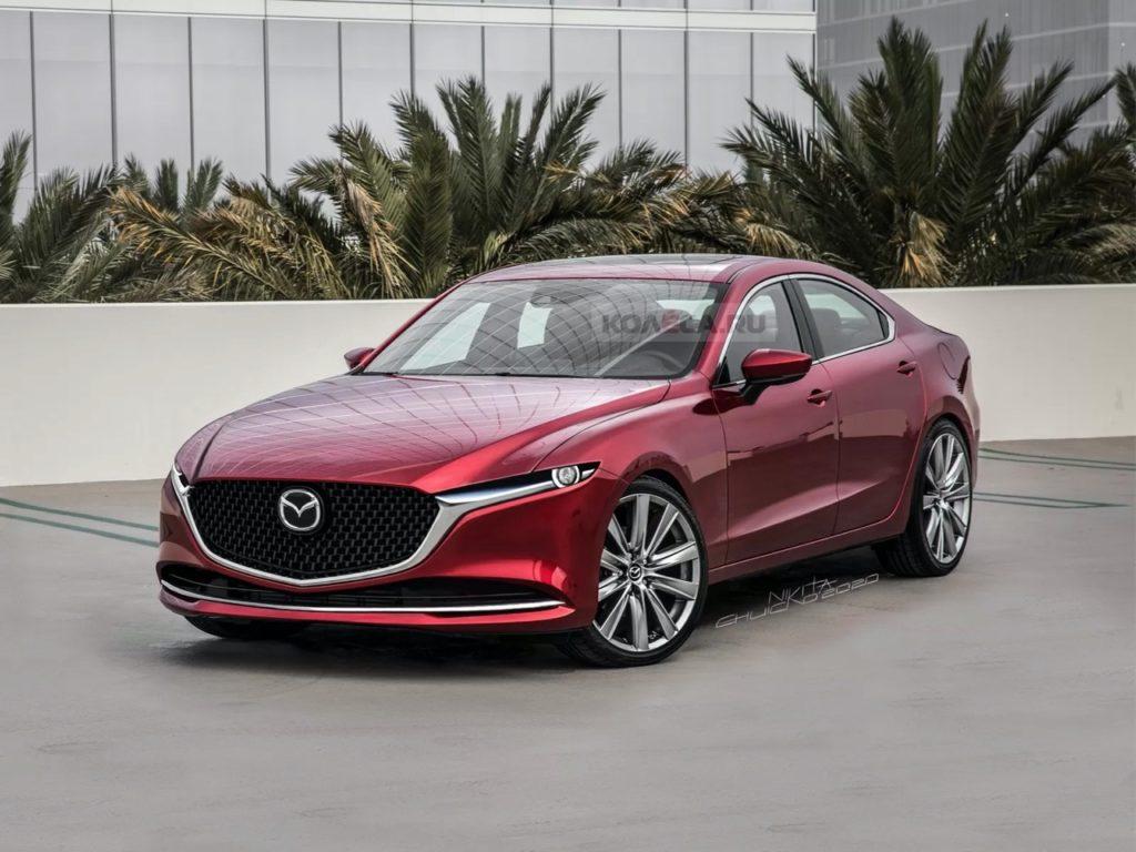 Mazda6: in arrivo nel 2022 con la trazione posteriore [RENDER]