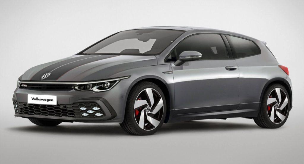Volkswagen Scirocco: come sarebbe su base Golf 8 [RENDERING]