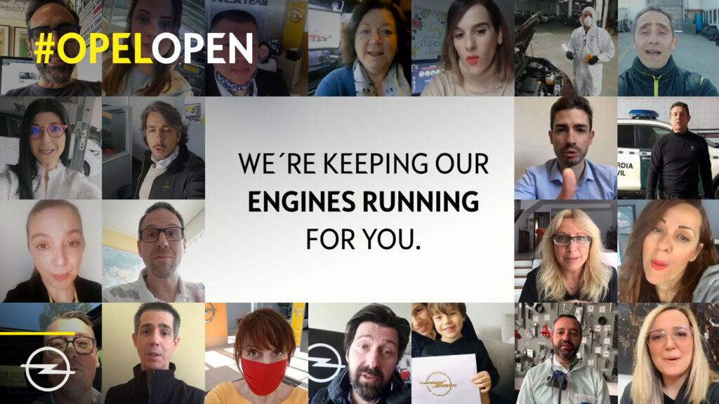 Opel conferma la sua vicinanza ai clienti con la nuova campagna #OpelOpen
