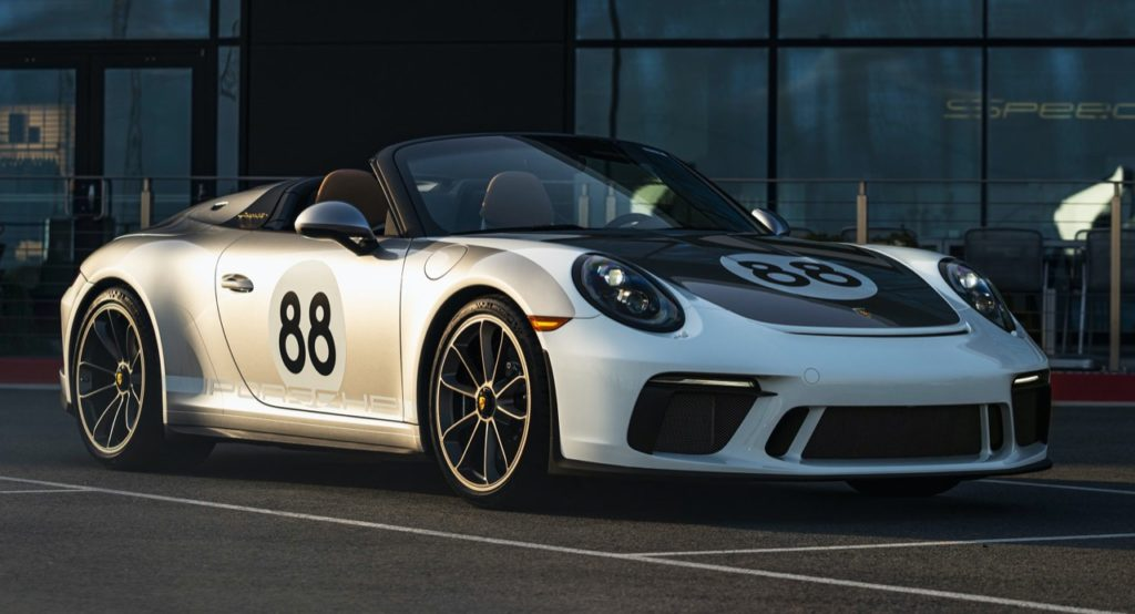 Porsche 911 Speedster: all'asta l'ultimo esemplare della 991 per la lotta al Coronavirus