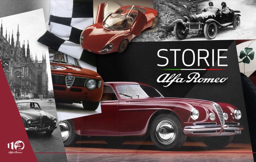 """""""Storie Alfa Romeo"""": i racconti di un brand leggendario"""
