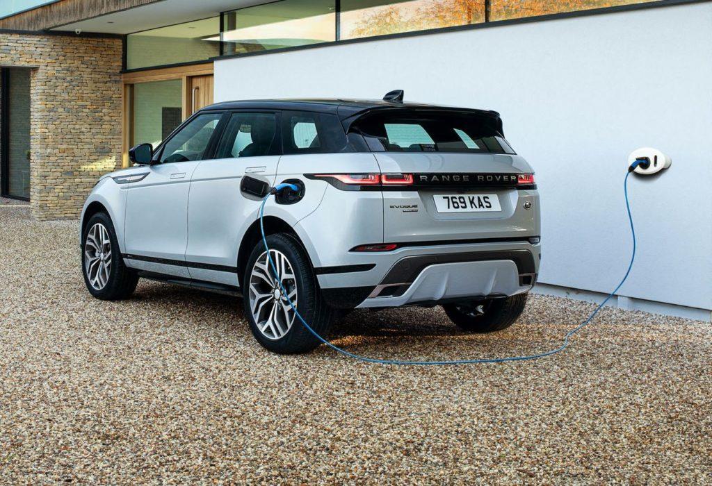 Land Rover Discovery Sport e Range Rover Evoque plug-in hybrid