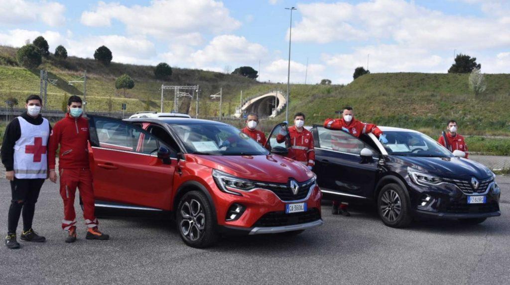 Una flotta di Renault Captur per la Croce Rossa Italiana