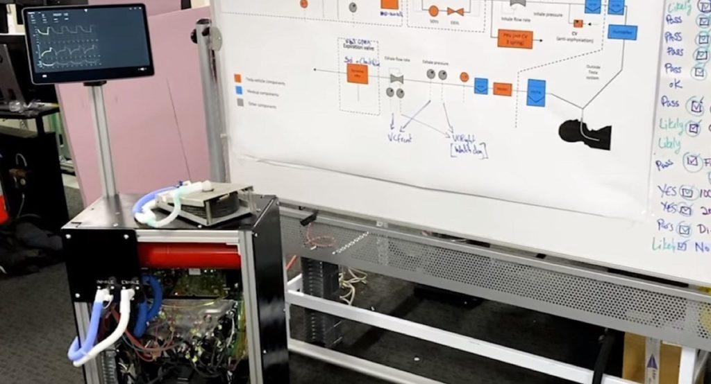 Coronavirus, Tesla: ecco i primi ventilatori ricavati da una Model 3 [VIDEO]