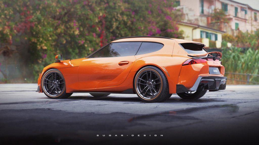 Toyota Supra: perché non una versione shooting brake? [RENDER]