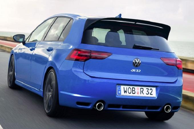 Volkswagen Golf 8 R32: ipotesi estetica per un ritorno in grande stile [RENDERING]