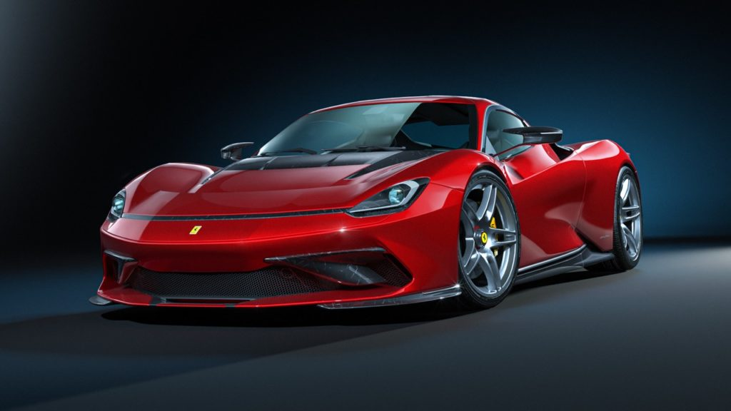 Probabilmente la Ferrari SF90 Stradale che avremmo realmente voluto [RENDER]