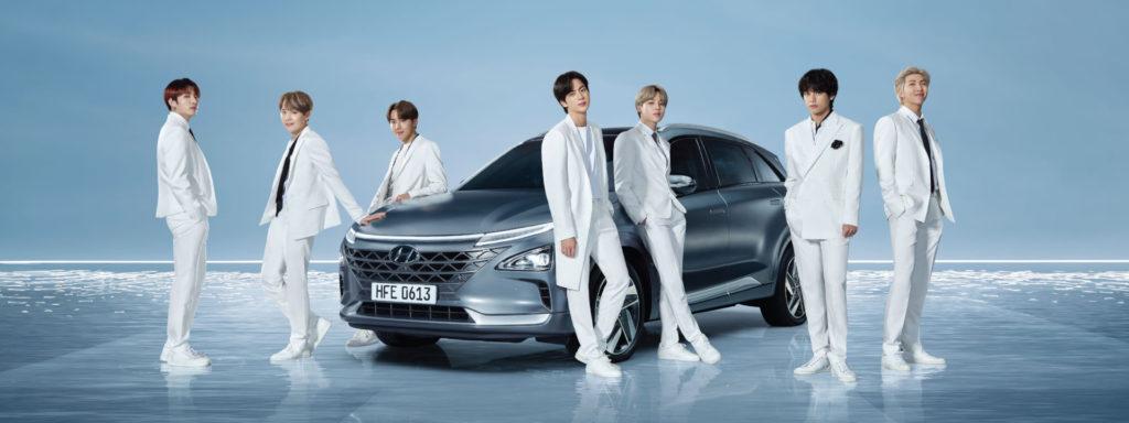 Hyundai celebra la Giornata della Terra con il gruppo K-pop BTS in VIDEO