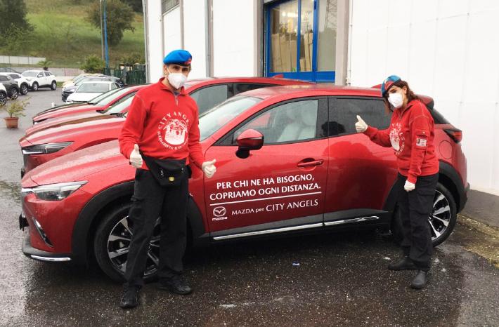 Coronavirus: Mazda a supporto delle persone più deboli