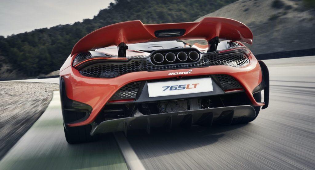 McLaren 765LT raccontata dal capo designer Rob Melville [VIDEO]
