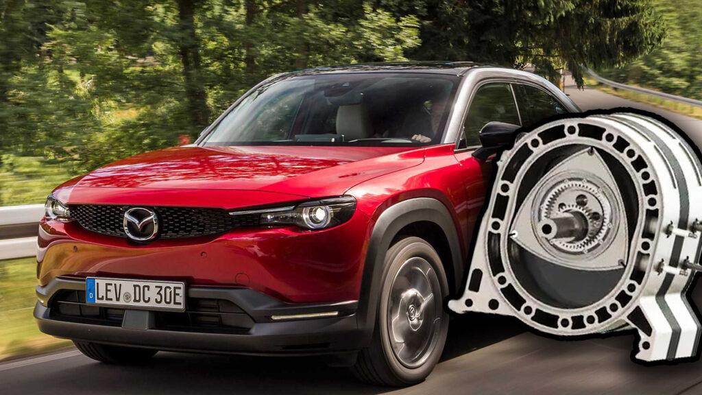 Mazda: su MX-30 torna il motore rotativo Wankel, ma solo come Range Extender
