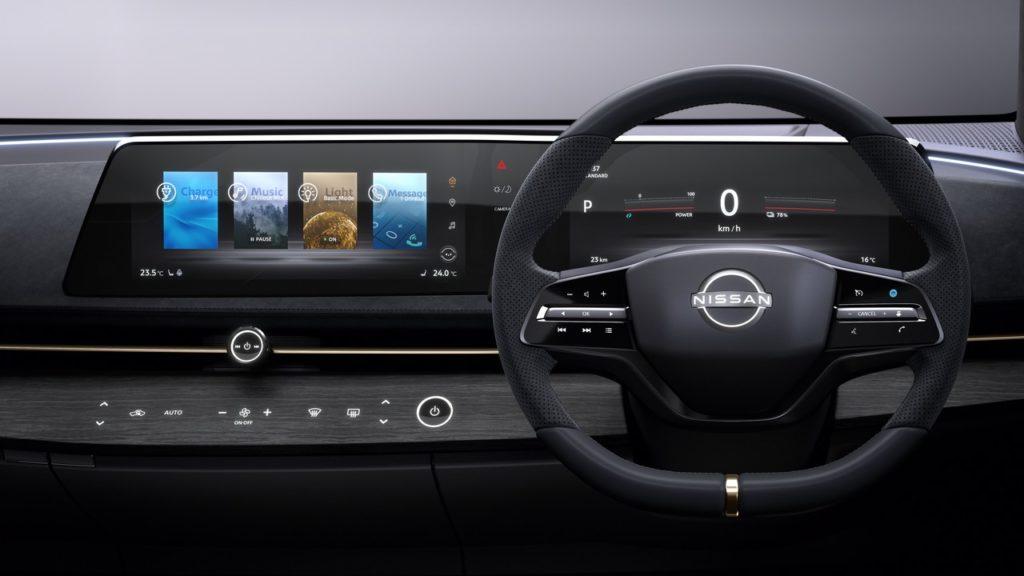 Nissan: no al tablet, il display orizzontale è più sicuro
