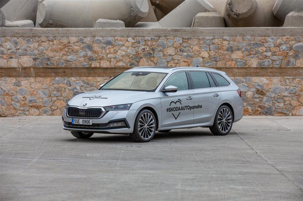 Skoda Octavia: donate 100 auto per la lotta al coronavirus