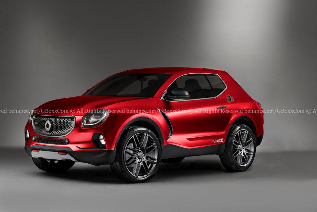 Smart SUV: l'uscita è prevista per il 2022