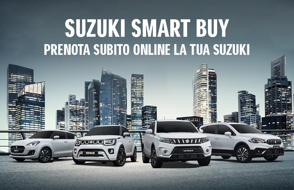Suzuki Smart Buy: la rete di vendita ai tempi del Coronavirus