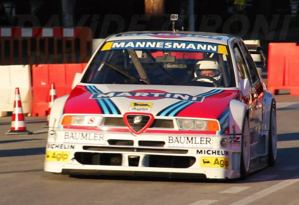 Ecco la Alfa Romeo 155 V6 ex-Larini 1996 tornare sul circuito [VIDEO]