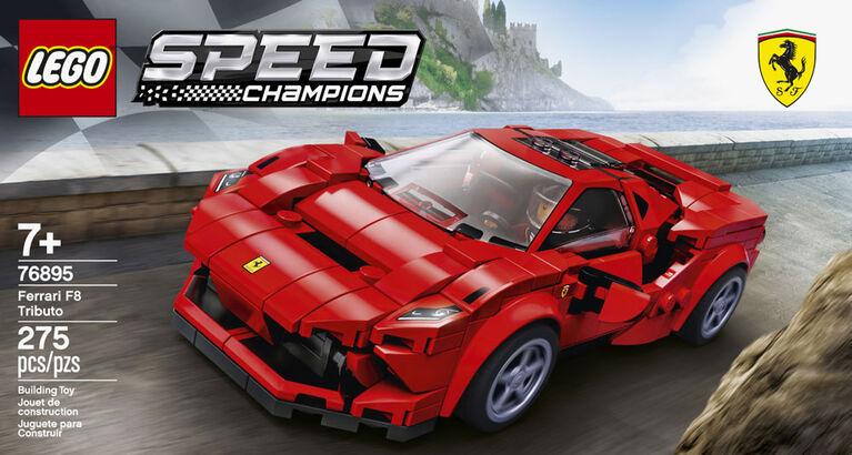 Ferrari F8 Tributo 76895 LEGO Speed Champions: un veloce montaggio in VIDEO