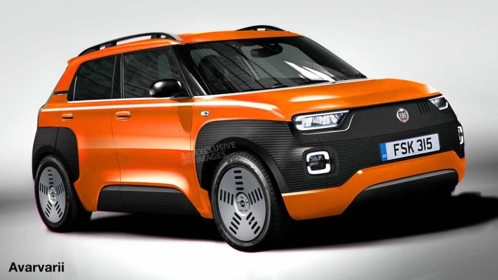 La nuova Fiat Panda 2022? Uguale alla Centoventi [RENDER]