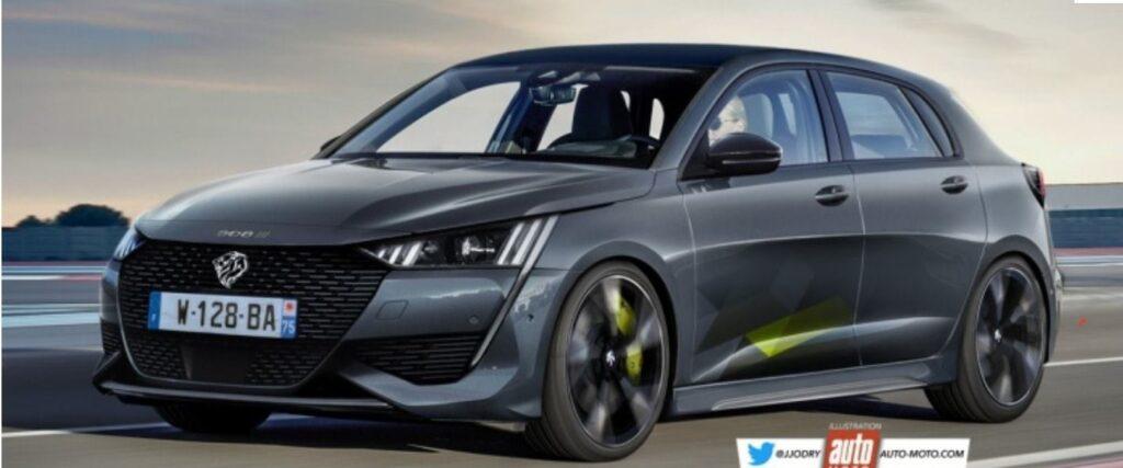 Nuova Peugeot 308: un RENDER ci mostra come potrebbe essere la versione GTi
