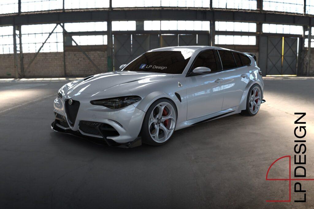 Alfa Romeo Giulia Sport Wagon GTA: la desiderata familiare alza il livello di sportività [RENDER]