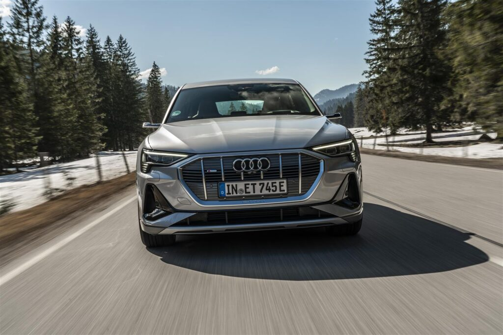 Audi e-tron Sportback - Aerodinamica