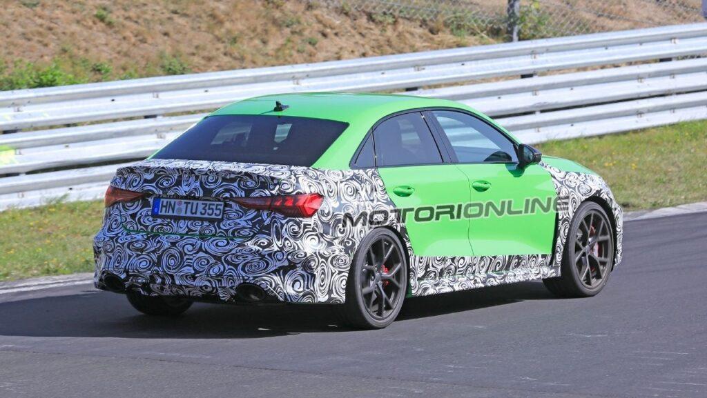 Audi RS3 Sedan 2020 - Spy Foto