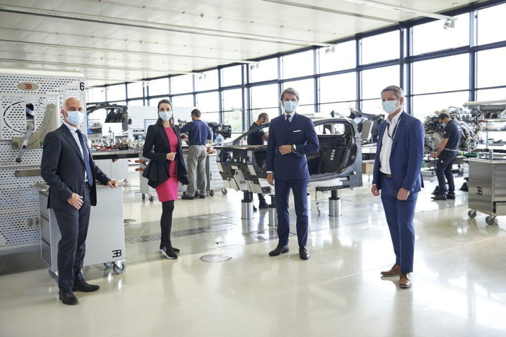 Bugatti: ripresa la produzione con nuove norme di sicurezza a Molsheim