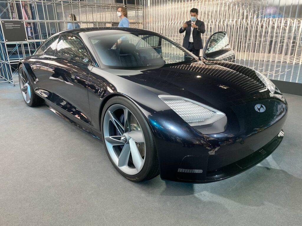 Hyundai Ioniq 6 Concept - Salone di Monaco 2021