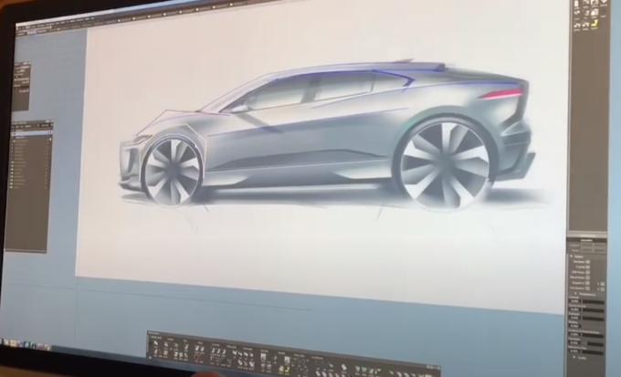 Jaguar I-Pace: panoramica sul processo di progettazione con dei video masterclass