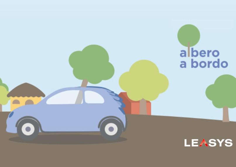 Leasys: un albero a distanza per ogni noleggio a lungo termine