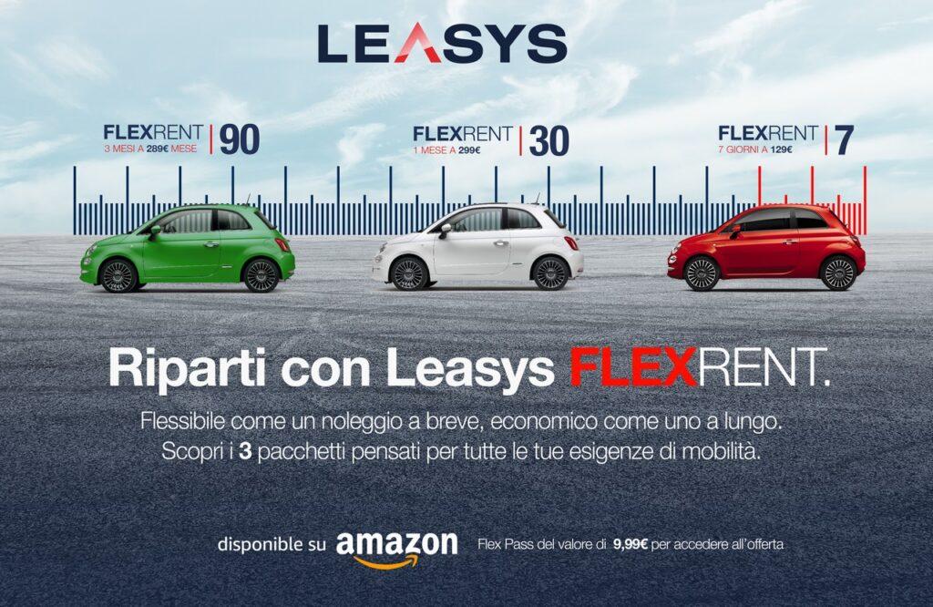 Leasys: la Fase 2 con la nuova formula FlexRent