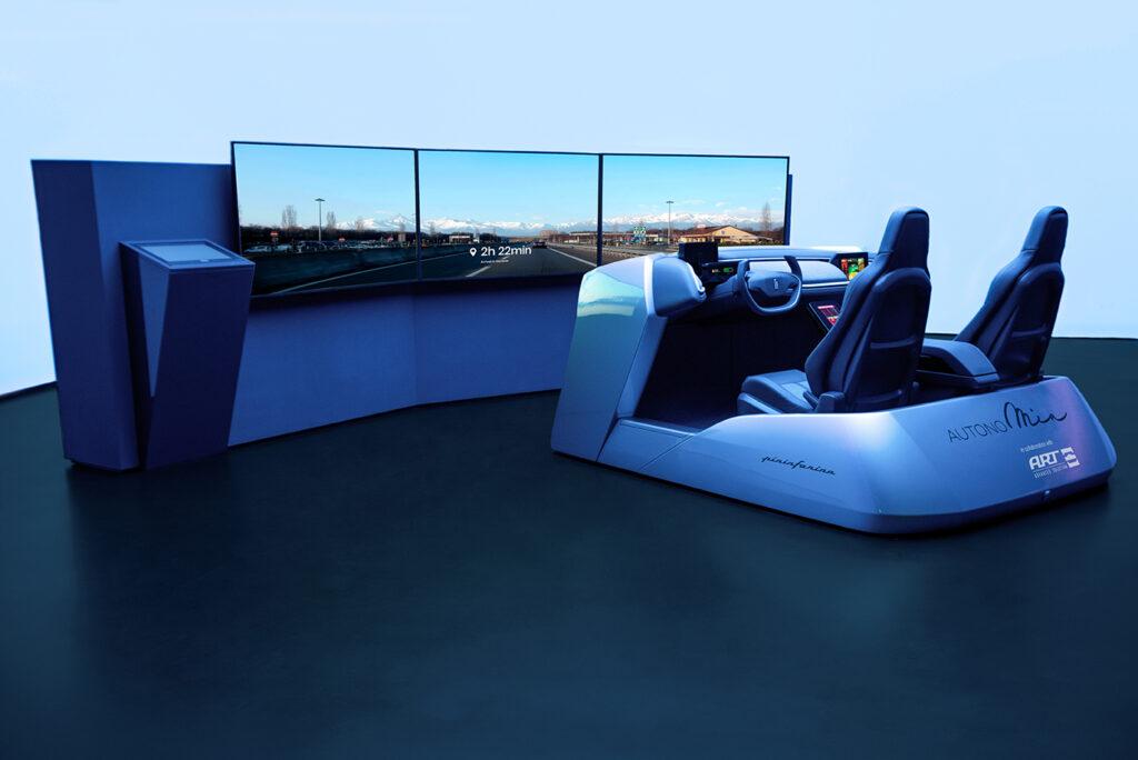 Pininfarina presenta AutonoMIA, il dimostratore per una coinvolgente e futuristica User Experience