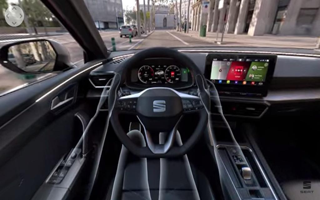 Seat Leon: simulando il test drive con la realtà aumentata [VIDEO]