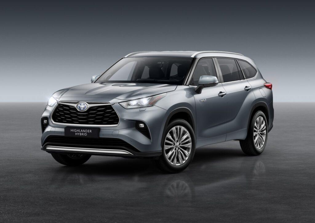Toyota Highlander 2021 - Foto ufficiali