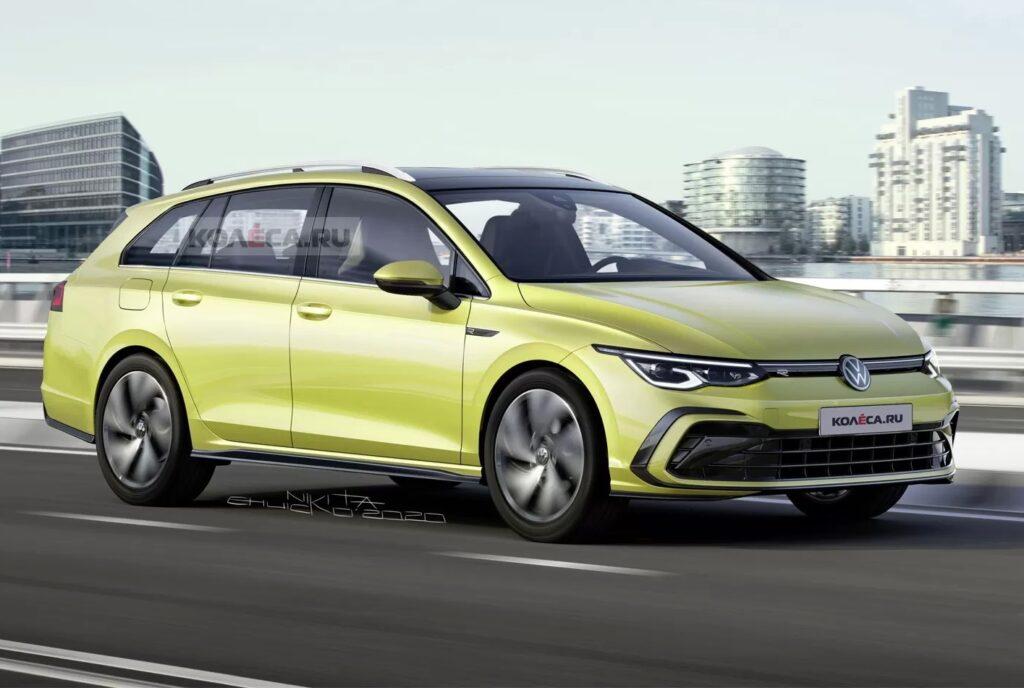 Volkswagen Golf 8 Variant - maggio 2020