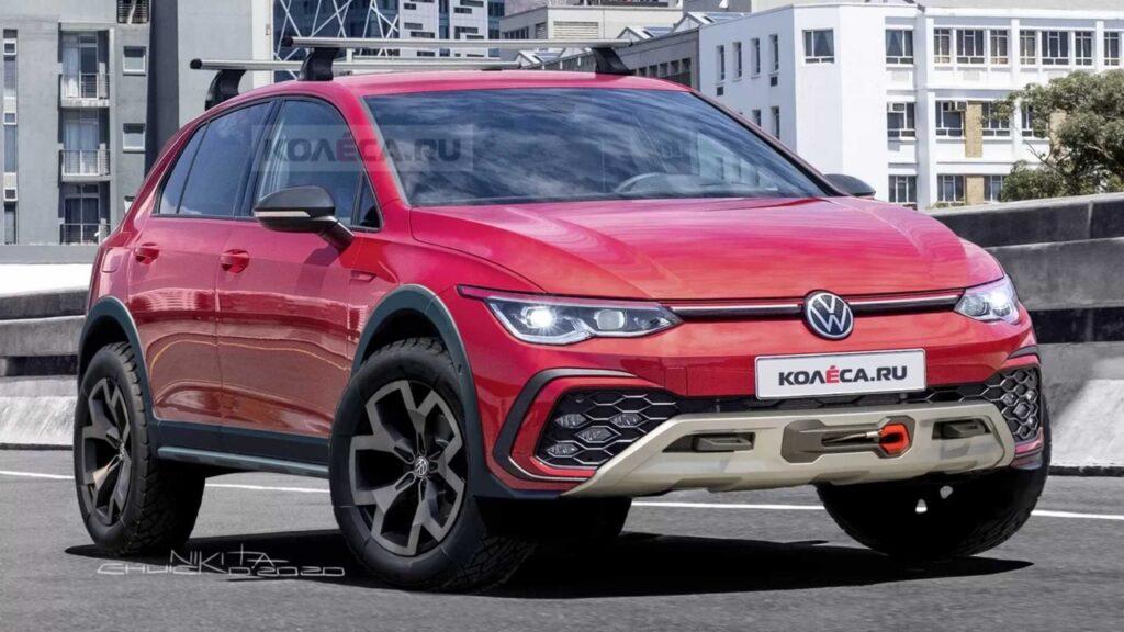 Volkswagen Golf Country 4×4: il ritorno del mito anni '90 [RENDER]