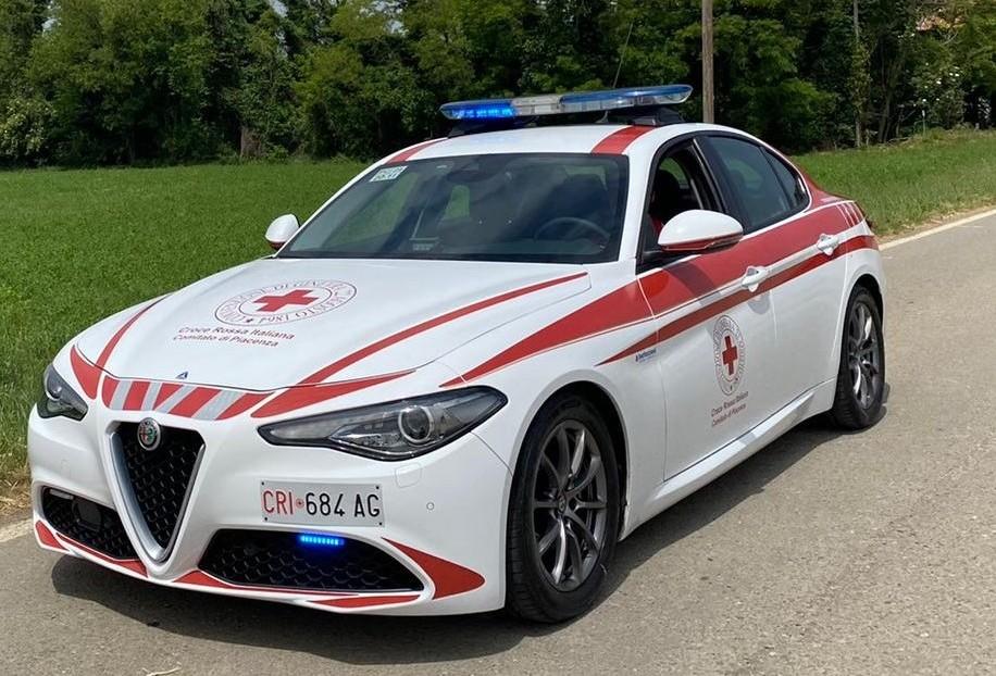 Alfa Romeo Giulia: l'esemplare per la Croce Rossa di Piacenza [VIDEO]