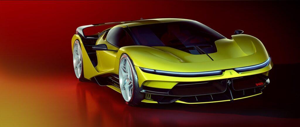 Ferrari F42: il render che immagina l'erede della F40