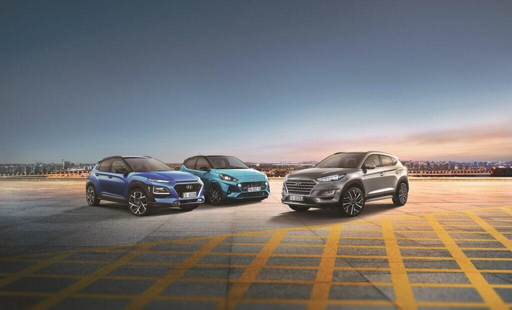 Hyundai: tutta la gamma con zero anticipo e prima rata nel 2021