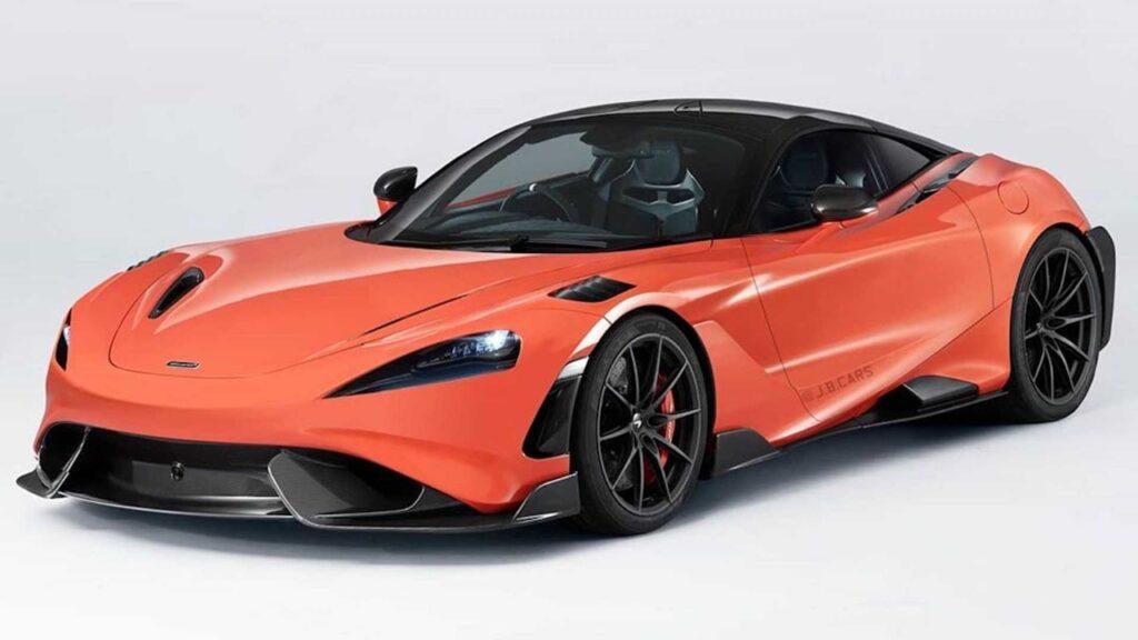 McLaren 765LT: come sarebbe se avesse il motore frontale [RENDER]