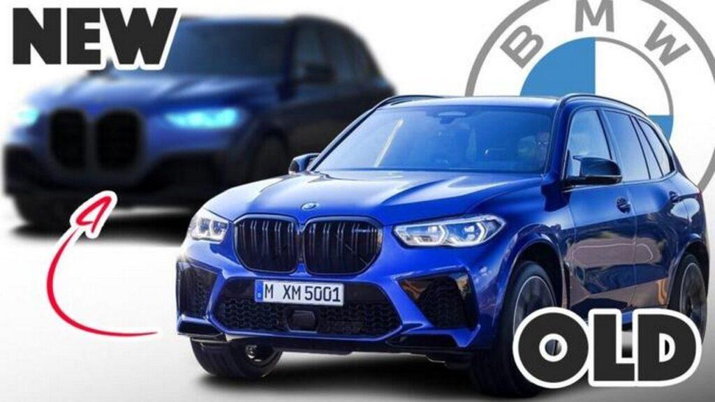 BMW X5: il restyling avrà il frontale con doppio rene enorme? Ecco il render [VIDEO]