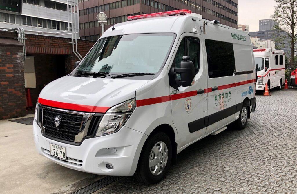 Nissan NV400: la prima ambulanza a zero emissioni