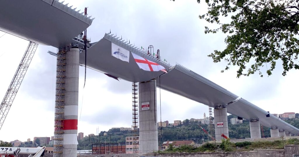 Ponte Genova: il collaudo è previsto per metà luglio 2020