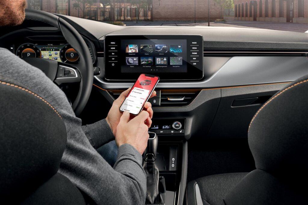 Skoda Connect: tutti i dati dell'auto in una nuova app
